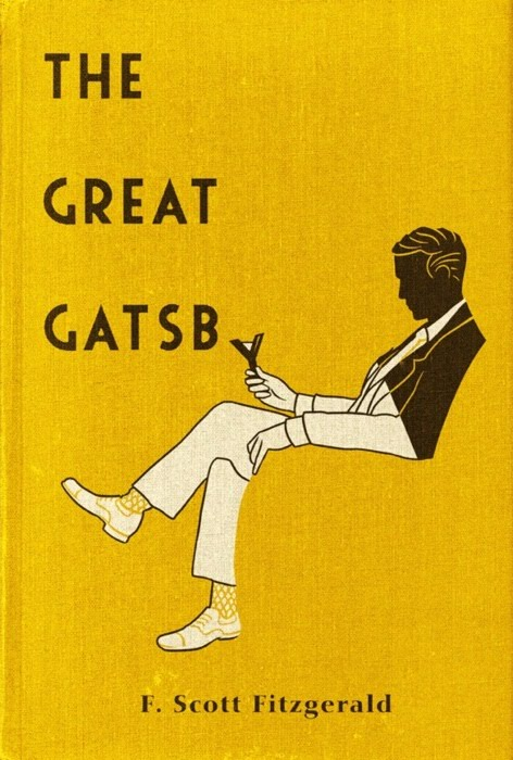 Great Gatsby book cover 2
