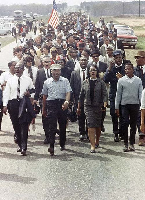 coretta marching