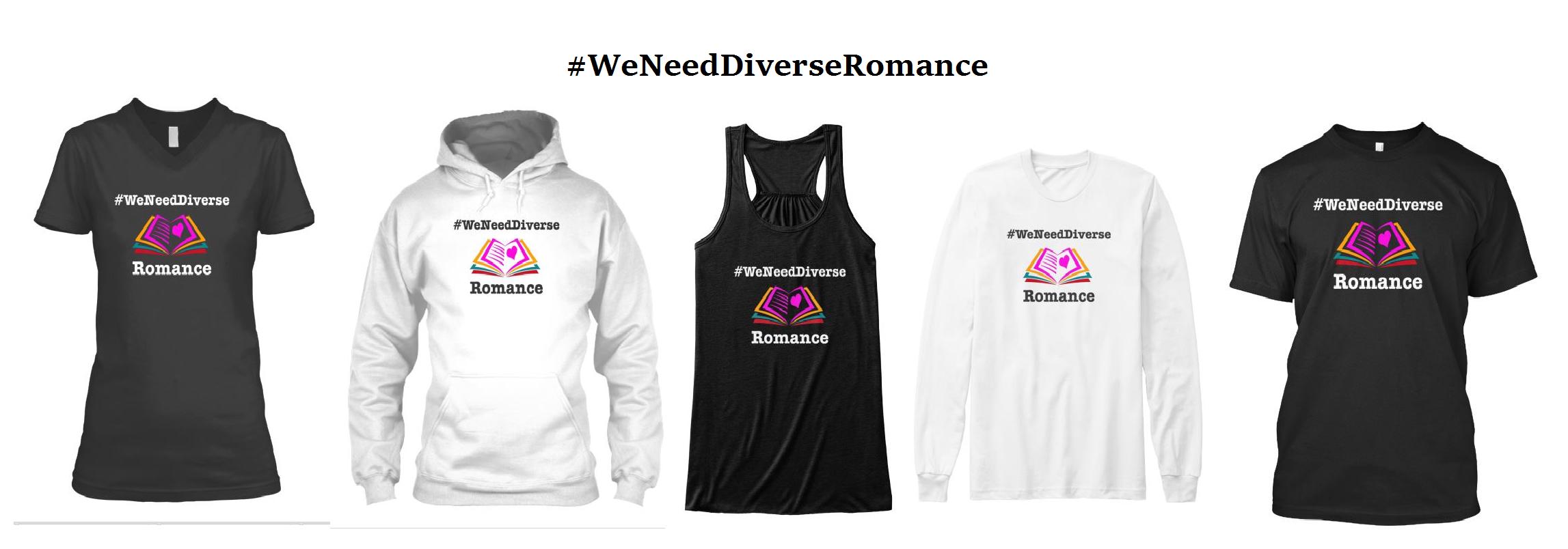 Diverse romance gear tee