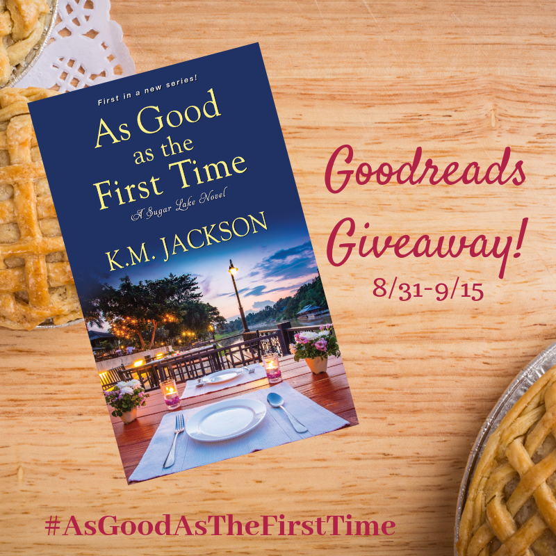 It's a Goodreads Giveaway! As Good As the First Time
